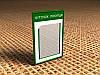 Информационный стенд на 1 карман А4, 300х410 мм (Состав: Без рамки;  Нанесение: Аппликация пленками ORACAL;)