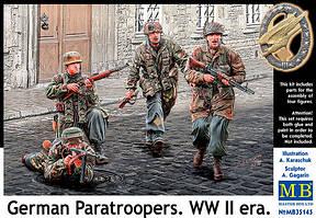 Немецкие десантники. Период Второй мировой войны. 1/35 MB35145