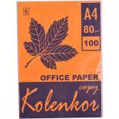 Бумага для ксерокса, А4 100 листов 80г/м² неон CYBER HP