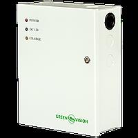 ИБП для видеонаблюдения GreenVision GV-001-UPS-A-1201-3A