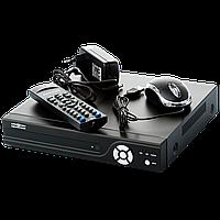 Гибридный видеорегистратор стационарный для гибридных, AHD и IP камер.GreenVision GV-X-S028/08 1080P