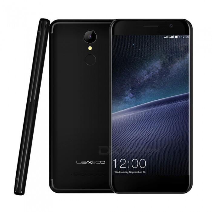 "Смартфон Leagoo M5 Edge 2/16Gb Black, 13/8Мп, 2000mAh, 2sim, 4 ядра, экран 5"" IPS, GPS, 3G"