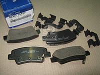 Колодки тормозные задние (диск) (пр-во Mobis) 583023XA30