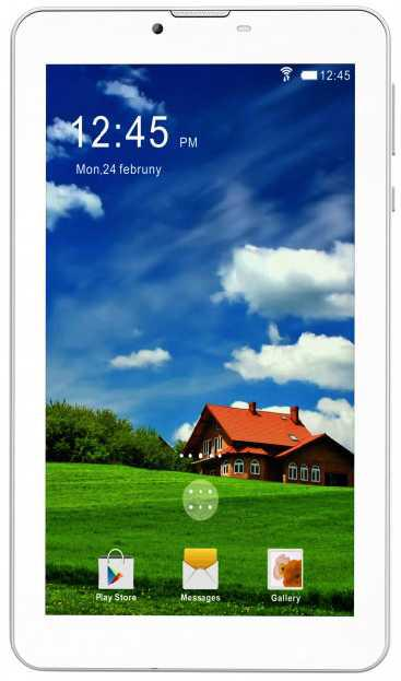 Планшет-телефон 7 дюймов на 2 сим карты BRAVIS NB753 1/8Gb белый