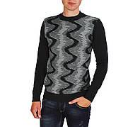 Черный мужской теплый свитер GEREKLI , фото 1