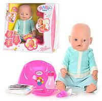 "Кукла-пупс Беби Борн ""Baby Born"" 8001, 9 функций, 9 аксессуаров, Baby 8001-D"