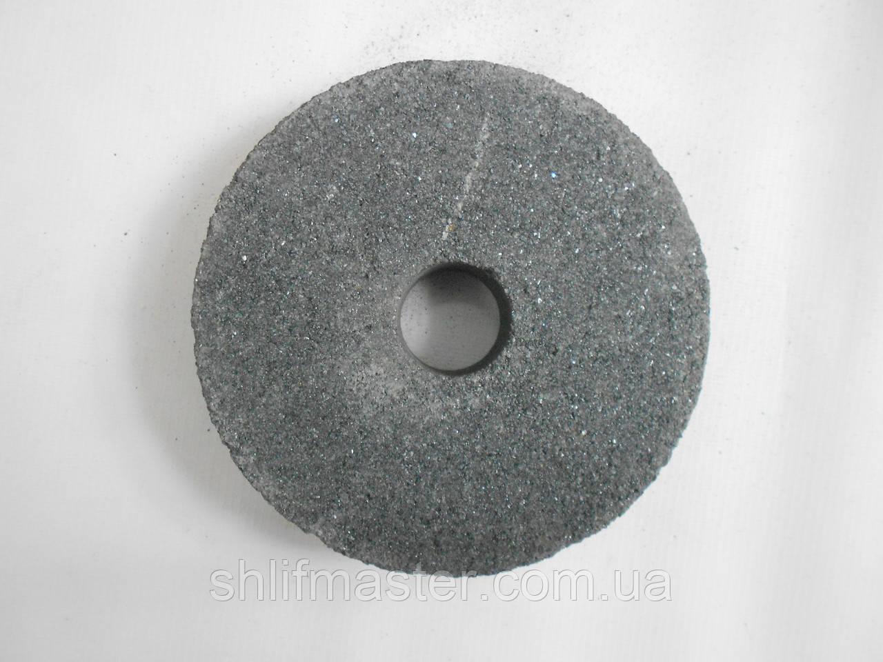 Круг абразивный из карбида кремния черного 54С ПП 125х32х32 80 ВТ