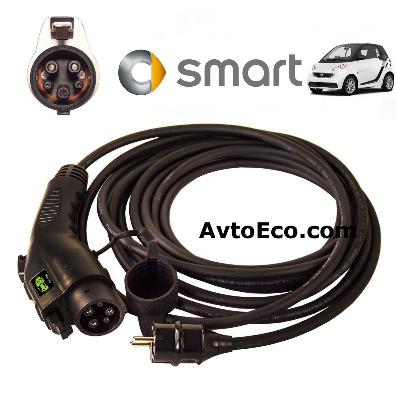 Зарядное устройство для электромобиля Smart Electric Drive AutoEco J1772-16A