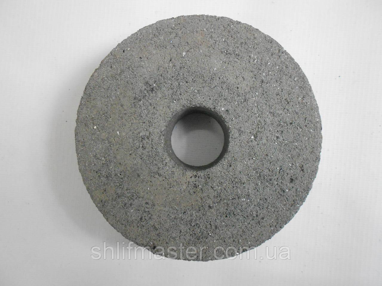 Круг абразивный из карбида кремния черного 54С ПП 150х32х51 80 ВТ