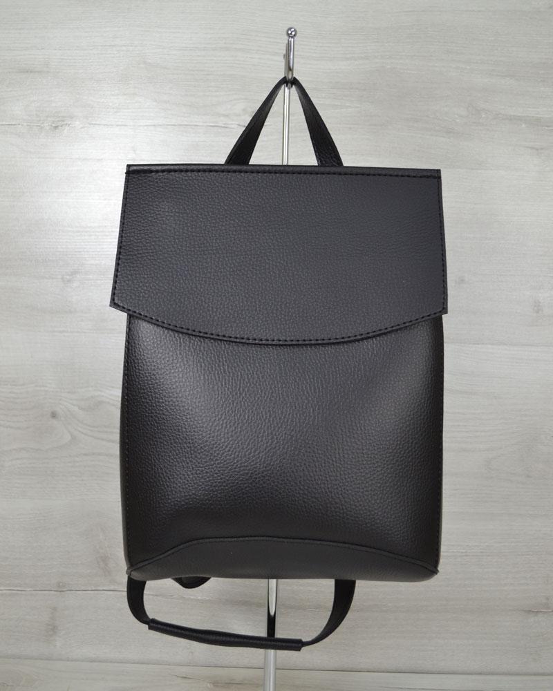 03d3eea5a0cc Черная сумка рюкзак трансформер женский на плечо: продажа, цена в ...