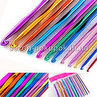 (12шт) Набор крючков для вязания (от 2мм до 6,5мм)
