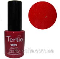 TERTIO гель - лак № 042(алая роза) 10 мл