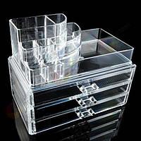 Акриловый органайзер для косметики Upgraded cosmetic storage box 7011-3