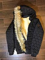 Куртка мужская зимняя на овчине