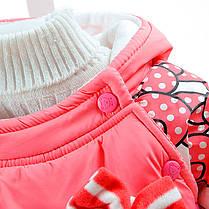 """Комбинезоны детские. Комплект для девочки """"Hello Kitty"""" персиковый, фото 2"""