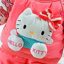 """Комбинезоны детские. Комплект для девочки """"Hello Kitty"""" персиковый, фото 3"""