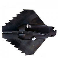 G.Drexl Крестообразная зубчатая насадка 22/45 мм, усиленная