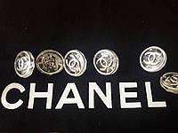 Пуговицы для блузок и рубашек, брендовые, пуговицы круглые с одним креплением. Chanel