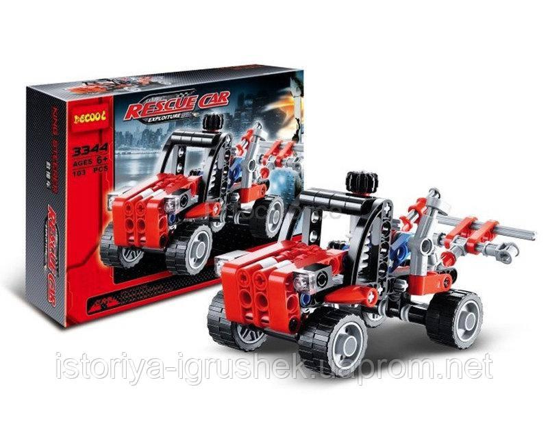 Детский конструктор Decool 3344 (аналог Lego Technik)