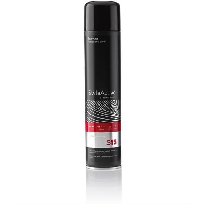 Erayba Лак Strong Spray S15 сильной фиксации, 500 мл