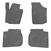Резиновые автомобильные коврики для SKODA RAPID 2013-