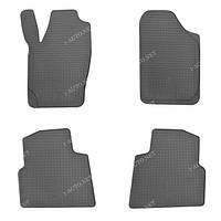 Резиновые автомобильные коврики для Skoda Roomster 2006>