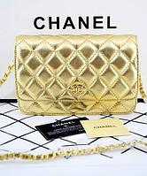 Женская сумка CHANEL WOC Gold (8096), фото 1