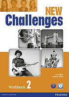 Challenges NEW 2 Workbook + CD-Rom