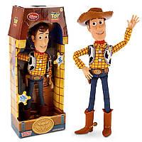 Говорящий ковбой Вуди История игрушек Дисней Woody Talking Figure Disney