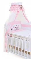 Балдахин для детской кровати Twins  Evolution A-017 Лето, розовый