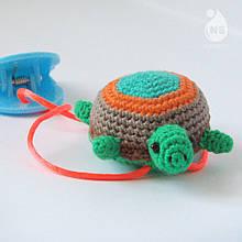Іграшка-брязкальце амігурумі - Черепашка