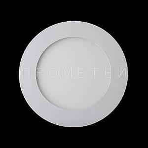 Встраиваемый LED светильник Прометей 6W дневной свет  P3-D392/6W