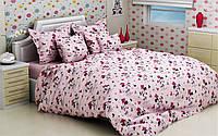 Детские комплекты постельного белья 110*140 из бязи Голд в кроватку Микки