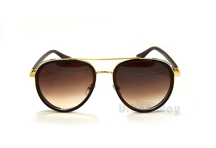 57a189546b96 Женские солнцезащитные очки Jimmy Choo, в ультрамодной оправе Авиатор,  украшенной кристаллами