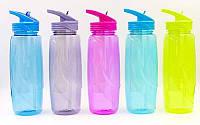 Бутылка для воды с камерой для льда спортивная