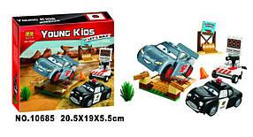 Конструктор Bela 10685 Тачки Тренировочный полигон Вилли Бутта (аналог Lego Juniors 10742)