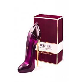 Женская парфюмированная вода Carolina Herrera Good Girl New York бордо в бархате