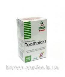 Зубочистки в индивидуальной упаковке 1000 шт Toothpicks, фото 2