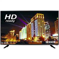 Bravis LED телевизор Bravis LED-32E6000 + T2 black