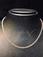 Цепь «Арабский Бисмарк», золото 585 проба, вес изделия 5,12гр., 45см