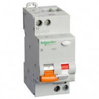 Дифференциальный автоматический выключатель АД63 2P 25A 30МA