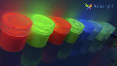 Светящаяся краска для ткани Acmelight, 1шт (20 мл) 9 цветов
