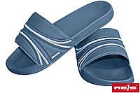 Шлепанцы резиновые мужские синие Reis Польша BKLTOP G