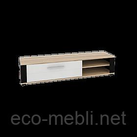 Тумба РТВ 165 Neone 1 дуб сонома / білий глянець