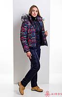 Женский зимний теплый и легкий костюм, куртка и полукомбинезон