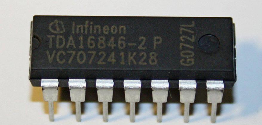 Микросхема TDA16846-2P TDA16846P, фото 2