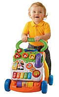Ходунки - толкатель Vtech с игровой панелью Sit-to-Stand Learning Walker 80-077000