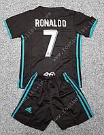 Футбольная форма Ronaldo Реал Мадрид сезона 2017/2018 выездная