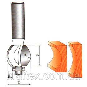 Фреза Globus 1015 (Кромочная внутренний радиус)