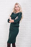Теплый костюм женский кофта и юбка p.44-48 AR99670-3